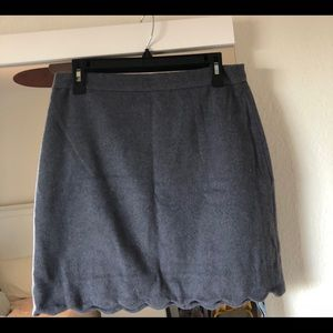 Gray skirt with cute design